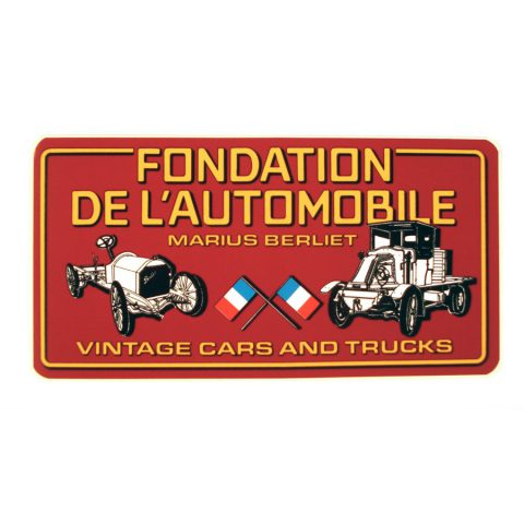 "Autocollant Fondation ""Vintage Cars and Trucks"""