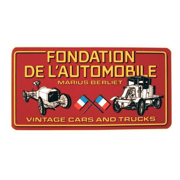 "Autocollant Fondation ""Vintage Cars and Trucks"""