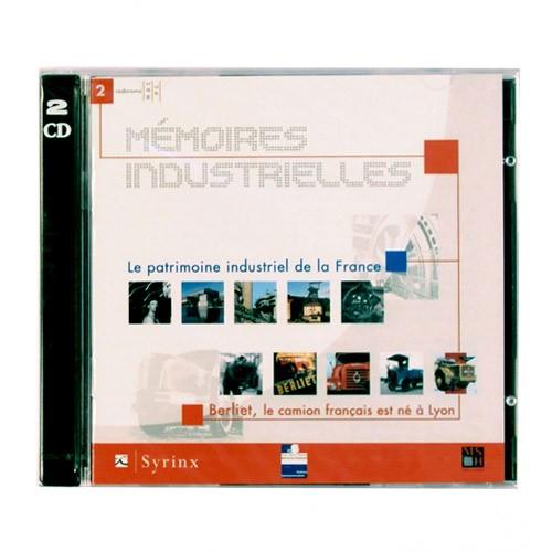 """Coffret 2 cédéroms """"Mémoires industrielles"""" – Éditions Syrinx – 2001"""