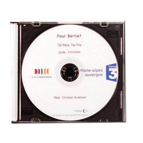 """DVD film """"Tel père, tel fils"""" – Production France 3 Rhône-Alpes Auvergne"""