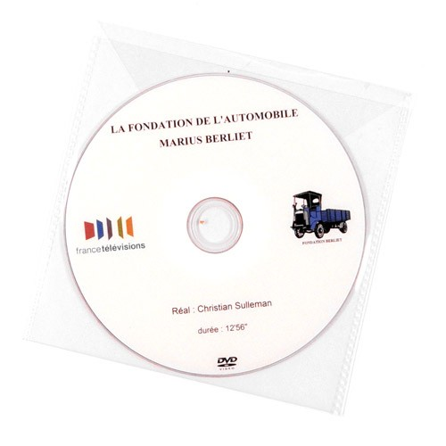 "DVD ""Fondation de l'Automobile Marius Berliet"" – Production France 3 Rhône-Alpes Auvergne"