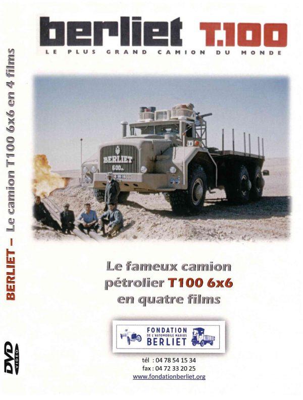"""DVD BERLIET T 100 """"Le plus grand camion du monde"""""""